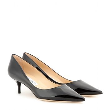 jimmy choo - aza patent-leather pumps