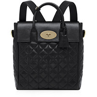 Mulberry Large Cara Delevingne Quilted Nappa Bag