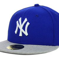 New York Yankees MLB Diamond Heather 59FIFTY Cap