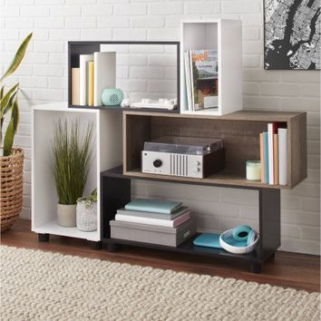 Mainstays Stack Storage Shelf Unit - Walmart.com
