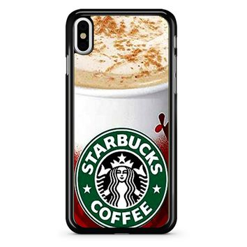 Starbucks Coffee Christmas iPhone X Case