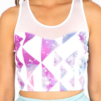 Beam Me Up Crop Top $23