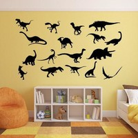 Dinosaur Wall Decal, Dinosaur Wall Decor