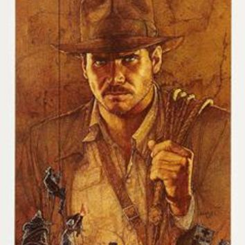 Raiders of the lost ark  Insert Movie Poster 14X36