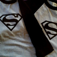 Superman Couples T-Shirt Great for disneyworld and vacations