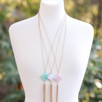 Iconic Tassel Necklace