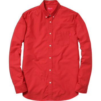 Supreme: Oxford Shirt - Red