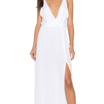High Tide Maxi in Solid White