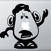 Macbook Decal - Mr. Potato Head - Macbook Pro Decal - Laptop Sticker Toy Story Decal