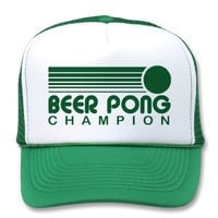 Beer Pong Mesh Hat from Zazzle.com