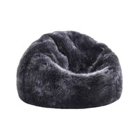 Lap of Luxury Sheepskin Bean Bag