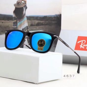 Rayban Ray Ban Fashion Women Men Casual Sunglasses Sun Shades Eyeglasses Glasses Sunglasses Sky Blue I A Sdyj