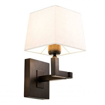 BRONZE SWING ARM WALL SCONCE | EICHHOLTZ CAMBELL