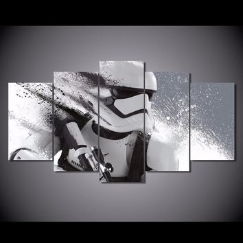 Star Wars Stormtrooper 5 Piece Canvas
