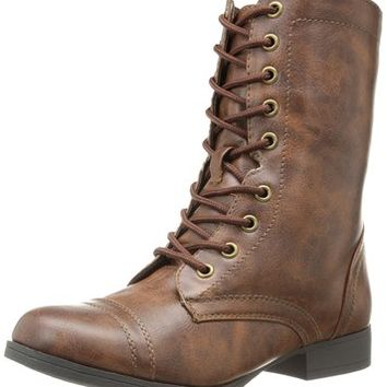 Wild Pair Women's Belfair Combat Boot
