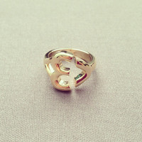 Love ring cute lovely pretty adorable jewelry adjustable by IMSMI
