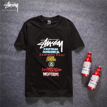 2018 Stussy Women Men Fashion Casual Shirt Top Tee | Best Deal Online