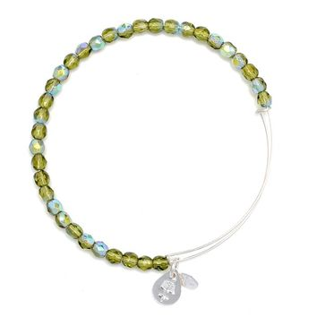 Moss Rock Candy Beaded Bracelet | Alex and Ani