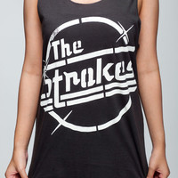 The Strokes Shirt Julian Casablancas Shirts Women Tank Top Black Shirt Tunic Top Vest Sleeveless Women T-Shirt Size S M