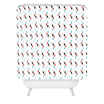 Marta Spendowska Dropplets 1 Shower Curtain
