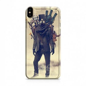 Steampunk Outsider iPhone X case