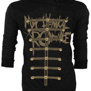 My Chemical Romance Gerard Way MCR Jacket Style The Black Parade Hoodie Jumper