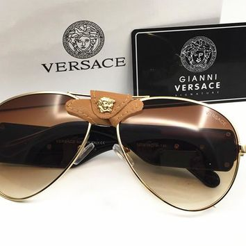 Versace Women Casual Popular Summer Sun Shades Eyeglasses Glasses Sunglasses [2974244590]