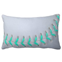 Light Blue Stitches Baseball / Softball
