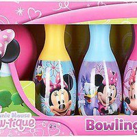 Educational Disney Little Girls' Minnie Mouse Bow-tique Bowling Set For Girls