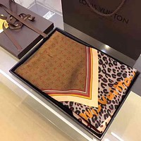 Perfect Louis Vuitton Woman Cashmere Scarf Shawl Silk Scarf