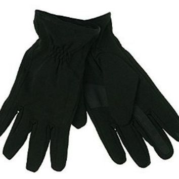 ISOTONER smarTouch 100% Waterproof Gloves 710M1 Black Medium or Large