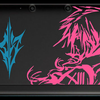 Final Fantasy XIII 2 color Lightning 3DS XL Decal