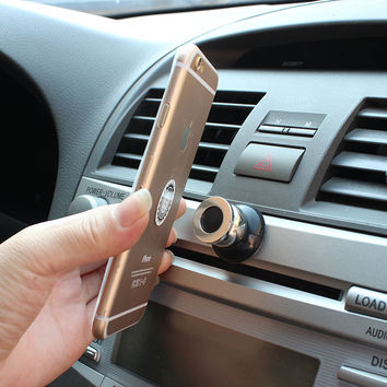 Multi-functioned Phone Holder Stand Cars Rack Magnet [6534289607]