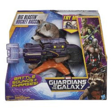 Marvel Guardians of the Galaxy Big Blastin Rocket Raccoon