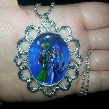 The Legend of Zelda - Link and Sheik - Necklace
