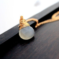 Moonshadow Necklace In Gold
