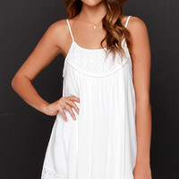Time of Our Lives Ivory Lace Dress