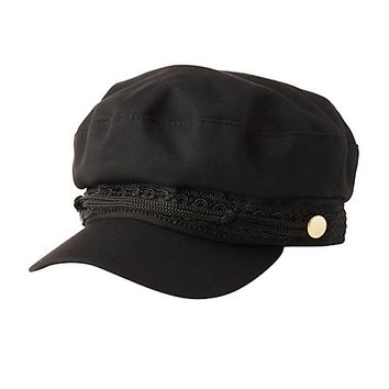 Woven Cabby Hat