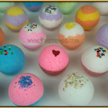 Bath bomb fizzy lot of 14 2.5 oz. enriched with Shea butter and coconut oil