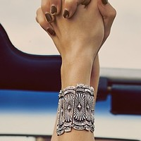 Free People Womens Dune Diamond Bracelet