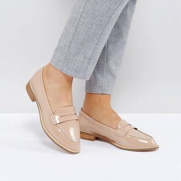 ASOS MUNCH Wide Fit Loafer Flat Shoes at asos.com