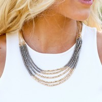 My Girl Layered Bead Necklace