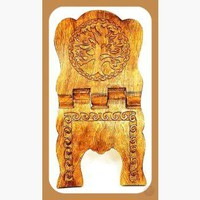 Tree of Life Wooden Book  Holder