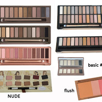 Makeup Nake NK 1 2 3 4 5 nk basic nk blush flush Brand Cosmetics Eye shadow palette eyeshadow makeup palettes