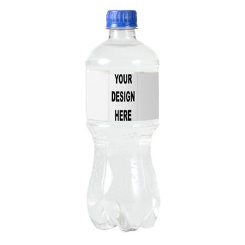 Customized Water Bottle Label