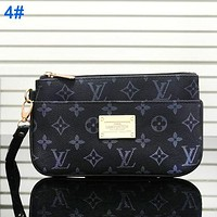 Louis Vuitton LV Hot Wash Gargle Bag Zipper Handbag Black