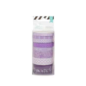 Heidi Swapp™ Washi Tape Tube, Purple