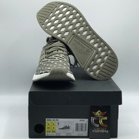 NEW Adidas NMD R2 PK Trace Cargo Olive Green Black (BA7198) in US Men Size 9.5