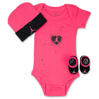 Girls' Infant Jordan Digi Heart 3-Piece Set