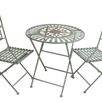 Birds On Branches Bistro Set (1 Table And 2 Chairs)